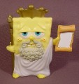 Spongebob Squarepants Atlantis Squarepantis Porous Poseidon Figure Toy, 4 Inches Tall, 2007