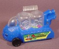 Dexter's Laboratory Wacky Racer Car Toy, Beads Inside Pop Up As It Is Pulled Back