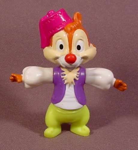 """Walt Disney World Epcot Dale In Morocco Pavilion Outfit, 2 5/8"""" Tall"""