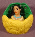 Disney Pocahontas Finger Puppet Toy, 3 Inches Tall, Burger King