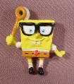 Spongebob Squarepants With Butterfly Net Miniature Mini PVC Figure, 2 1/8