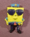 Spongebob Squarepants Policeman Miniature Mini PVC Figure, 2