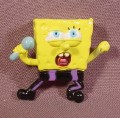 Spongebob Squarepants With Microphone Miniature Mini PVC Figure, 1 5/8
