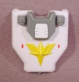 Gundam Sd Shield Accessory For Captain Gundam Action Figure, 2 1/8
