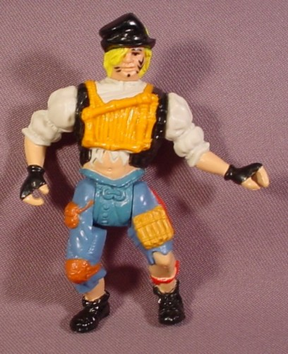 "Ace Lost Boy Action Figure Peter Pan Hook Movie, 4"" Tall, 1991 Mattel, Tri-Star Pictures"