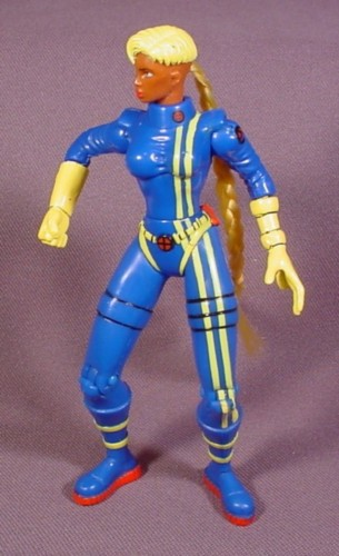 """Future Shard Action Figure, 5"""" Tall, 1997 Toy Biz, X-Men Missile Flyers"""