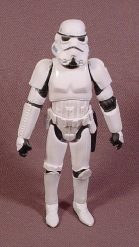 """Star Wars Stormtrooper Action Figure, 3 3/4"""" Tall, 2005 Hasbro, Original Trilogy Collection"""