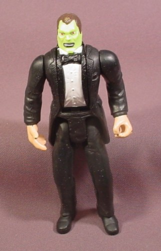 """The Mask Heads-Up Dorian Action Figure, 5 1/2"""" Tall, 1994 Hasbro, Heads Change"""