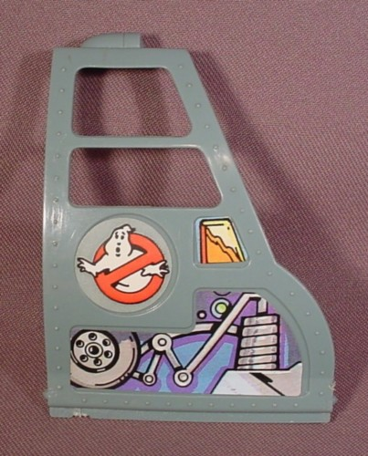 Real Ghostbusters Replacement Right Door Wing For Ecto-2 Helicopter Vehicle, 1986 Kenner