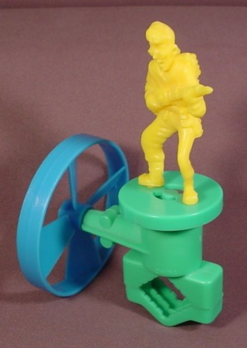 Real Ghostbusters Bicycle Bike Accessory With Spinning Propeller & Egon Figure