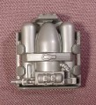 Gi Joe Fire Fighting Backpack With Silver Foam Tanks Accessory For 1985 & 1989 Barbecue