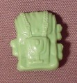 Gi Joe Green Backpack Accessory For 1982 Action Force Gung Ho Action Figure, Palitoy