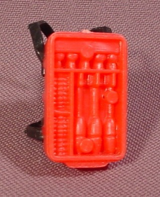 "A-Team Ammo Pack Backpack Accessory For 3 3/4"" Tall Action Figure, 1984 Galoob"
