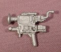 Jurassic Park Silver Pistol Weapon Accessory For Nick Van Owen Action Figure, 1990