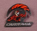 Clip On Pin Badge Accessory That Came With Carnage Unleashed Action Figure, 1995