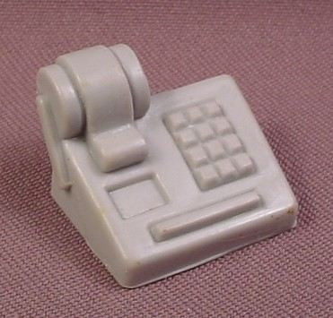 Disney Tale Spin Gray Calculator Accessory For Rebecca Cunningham Action Figure