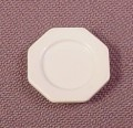 Playmobil Victorian White Larger Octagonal Plate, 11/16