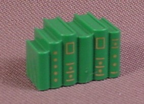 Playmobil Victorian Green Books With Gold Print, 4062 5320, For Bookcase