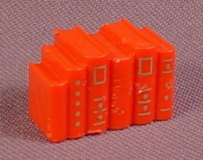 Playmobil Victorian Red Books With Gold Print, 5320 7224, For Bookcase