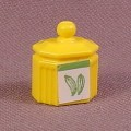 Playmobil Victorian Yellow Canister With Sticker Applied, 3848 5313 7781