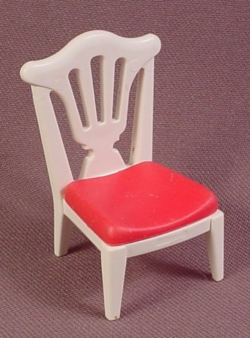 Playmobil Victorian White Chair With Red Seat, 5312 5339 5511, Wedding, Birthday