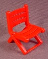 Playmobil Red Folding Lawn Chair, 3230 3647 3728 3864 3945 4826 5341 5907 5998 6671, 30 66 0160