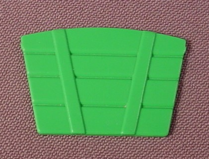 Playmobil Green Child Size Wood Slat Wagon End, 5341 5501, Victorian Produce Stand