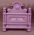 Playmobil Victorian Light Purple Bed Head Board With Design, 5325, Bedroom