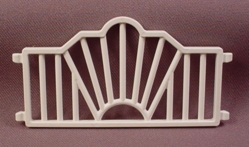Playmobil White Fence Section With A Sunburst Shaped Arch, 3720 3730 4230 5339, Victorian Wedding