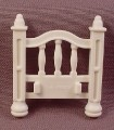 Playmobil White Baby Bed Head Or Foot Board, 4145 5312 5328 5763, Victorian