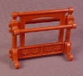 Playmobil Reddish Brown Victorian Towel & Clothing Rack With Legs, 5324, 30 60 9810