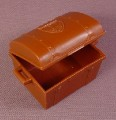 Playmobil Brown Treasure Chest With a Hinged Lid That Opens And A Crown Design On The Top