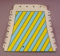 Playmobil Tent Cloth Side With Blue & Yellow Stripes, 3654, Knights