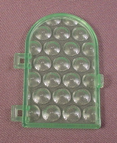 Playmobil Green Bottle Top Semi Transparent Arch Top Window, 3440 3448 3450 7109