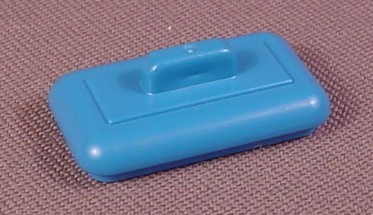 Playmobil Blue Rectangular Victorian Canister Top Or Lid, 3978 4081 5322, 30 60 8450