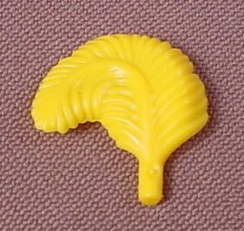 Playmobil Yellow Wide Curved Feather, 3665 5345, Victorian, Knights