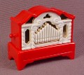 Playmobil Red Pipe Organ That Plays Songs, 4058 4152, Christmas