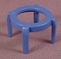 Playmobil Blue Four Leg Stool, Furniture, 3964 3967 4284, Children's Room, Bedroom