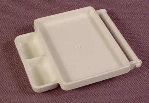 Playmobil White Tray For Operating Room, 3459, Medical, Fits On Top Of Rolling Base