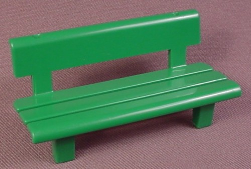 Playmobil Light Green Park Bench, 3223, 30 05 1200