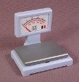 Playmobil Light Blue Store Weigh Scale With The Pad & Sticker, 3202 3634 6335 7780, 30 60 6980