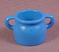 Playmobil Blue Wide Mouth Jar Or Jug With 2 Handles, 3634