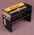 Playmobil Black Race Car Tail Spoiler, Goodyear Shell & Bosch Stickers, 3930, Racing