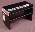 Playmobil Black Race Car Tail Spoiler, Blaupunkt & Firelli Stickers, 3930, Racing