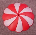 """Playmobil Dark Pink & White Parasol Shade, 4197, 4198, Water Lily Fairy, 2"""" Across"""