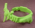 Tmnt Green Survival Belt Accessory, 1991 Machine Gunnin' Rocksteady Action Figure