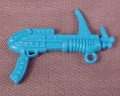 Tmnt Blue Terrifying Tusk Gun Weapon Accessory, 1991 Machine Gunnin' Rocksteady
