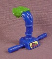 TMNT Blue & Green Sewerpipe Periscope Accessory 1991 Headdroppin Leo Action Figure
