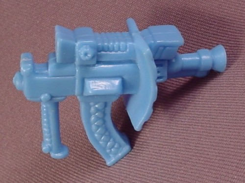 Tmnt Laser Phaser Weapon Accessory, 1990 Triceraton Action Figure