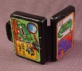 Tmnt Bulletproof Briefcase Accessory, 1990 Don The Undercover Turtle Action Figure